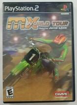 MX World Tour PS2 Game 2005 Crave Entertainment Playstation 2 - $4.99