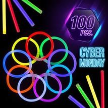 CoBeeGlow Glow Sticks Bulk Party Supplies - Light Stick Bracelets - Extra Bright