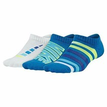 Nike Youth 3 Pair Pack Performance No Show Socks 5Y - 7Y SX5814-908 - $15.99