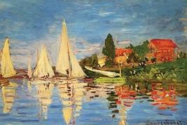 Regatta At Argenteuil by Claude Monet - Art Print - $19.99+