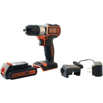 BLACK+DECKER(TM) BDCDE120C 20-Volt MAX* Lithium Drill/Driver with AutoSe... - $117.86