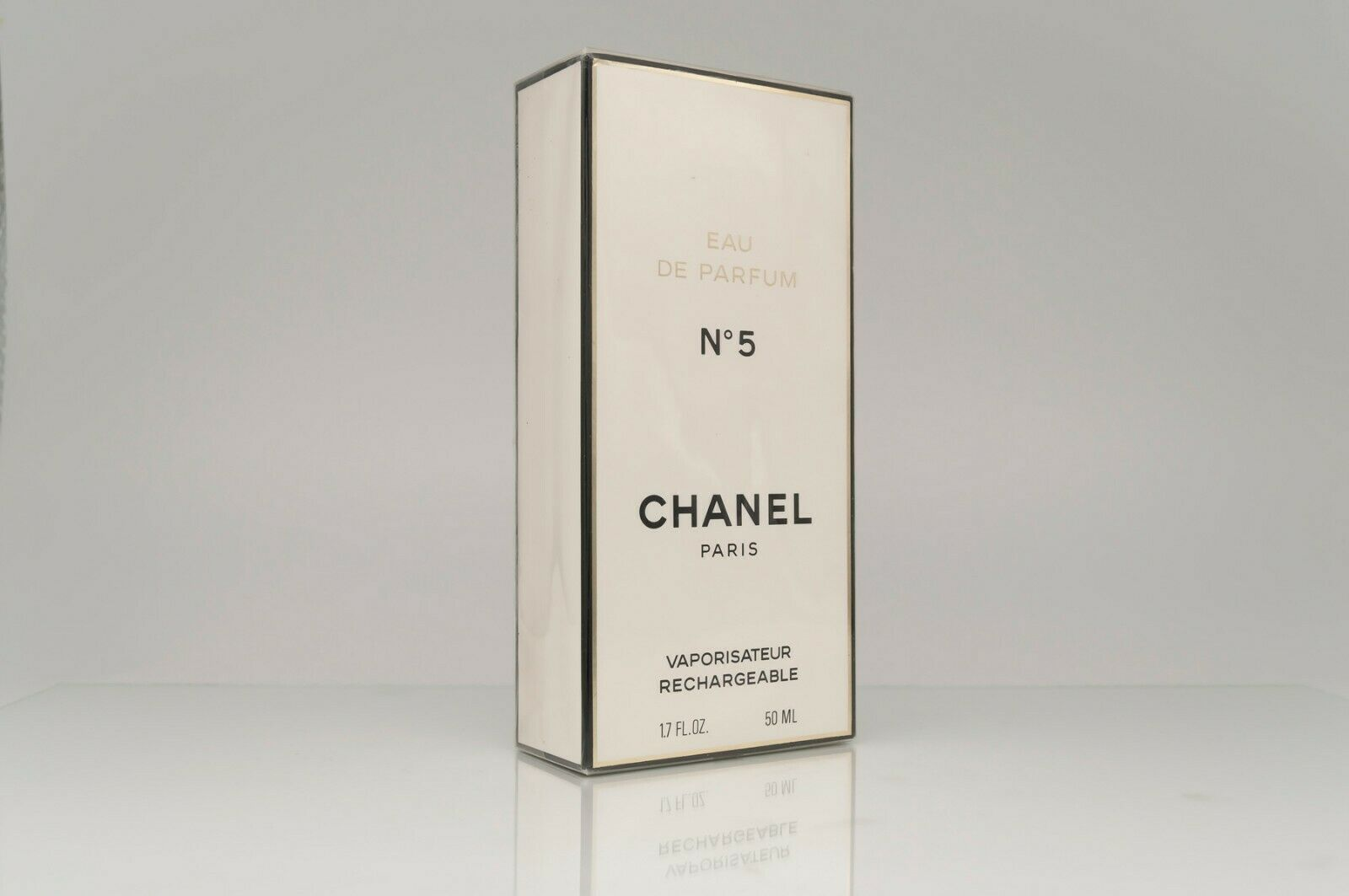 Primary image for CHANEL 5 (CHANEL) Eau de Parfum (EDP) 50 ml VINTAGE SEALED