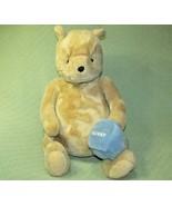 "20"" GUND CLASSIC Winnie the POOH Plush Stuffed Teddy Bear Blue HUNNY Hon... - $68.31"