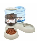 Cats Dogs Plastic Food Bowl Automatic Pet Feeder 3.75L Drinking Fountain... - $26.59+