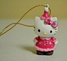 "2013 Sanrio Hello Kitty 2"" Christmas Ornament USED - $9.89"