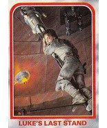 1980 Topps Star Wars Empire Strikes Back Red Cards LUKE'S LAST STAND #116 - $3.91
