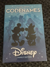 Factory Sealed CODENAMES: Disney Family Edition Treasure Cards Card Game - $32.98