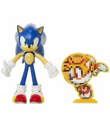 """NEW Sonic The Hedgehog Sonic 4"""" Bendable Action Figure by Jakks Pacific ... - $39.99"""