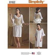 Simplicity Creative Patterns 8162 Misses' 18th Century Undergarments, R5... - $13.72