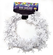 25 Foot Wire Garland - White (12 pcs) - $22.81