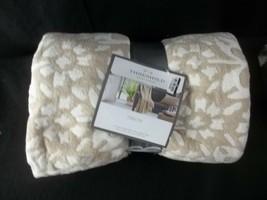 Jacquard Chenille Throw Blanket Neutral/Cream - Threshold 50x60 - $24.70