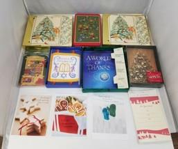 Cards 94 Total 75 Christmas, 8 Hanukkah Cards, 3 Misc, 8 Invitations, En... - $12.59