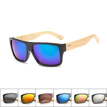 New 2016 Bamboo Sunglasses Men Wooden glasses Women Brand Designer Original Wood - $14.49