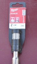 "New Milwaukee 48-20-4367 7/8"" x 36"" Spline Drill Bit - $70.45"