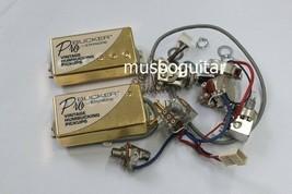 ProBucker Passive Neck and Bridge Pickups with Pro Wiring Harness pot in... - $49.49