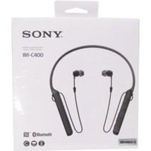 Sony WIC400/B Behind-The-Neck Wireless In Ear Headphones - Black - $74.78