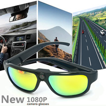 Outdoor Color Film Anti-glare Polarized 1080P HD Motion Camera Video Sunglasses - $125.99