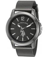 U.S. Polo Assn. Classic Men's Quartz Metal And Alloy Watch, Color:Black... - £38.97 GBP