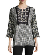 Figue Milan 3/4-Sleeve Cotton Tunic Top Size X-Small NWT $425 - $232.64