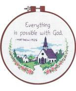 Dimensions Needlecrafts Counted Cross Stitch, Everything Is Possible - $5.94