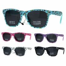 Kids Child Size Girls Unicorn Print Plastic Horn Rim Sunglasses - $7.87+