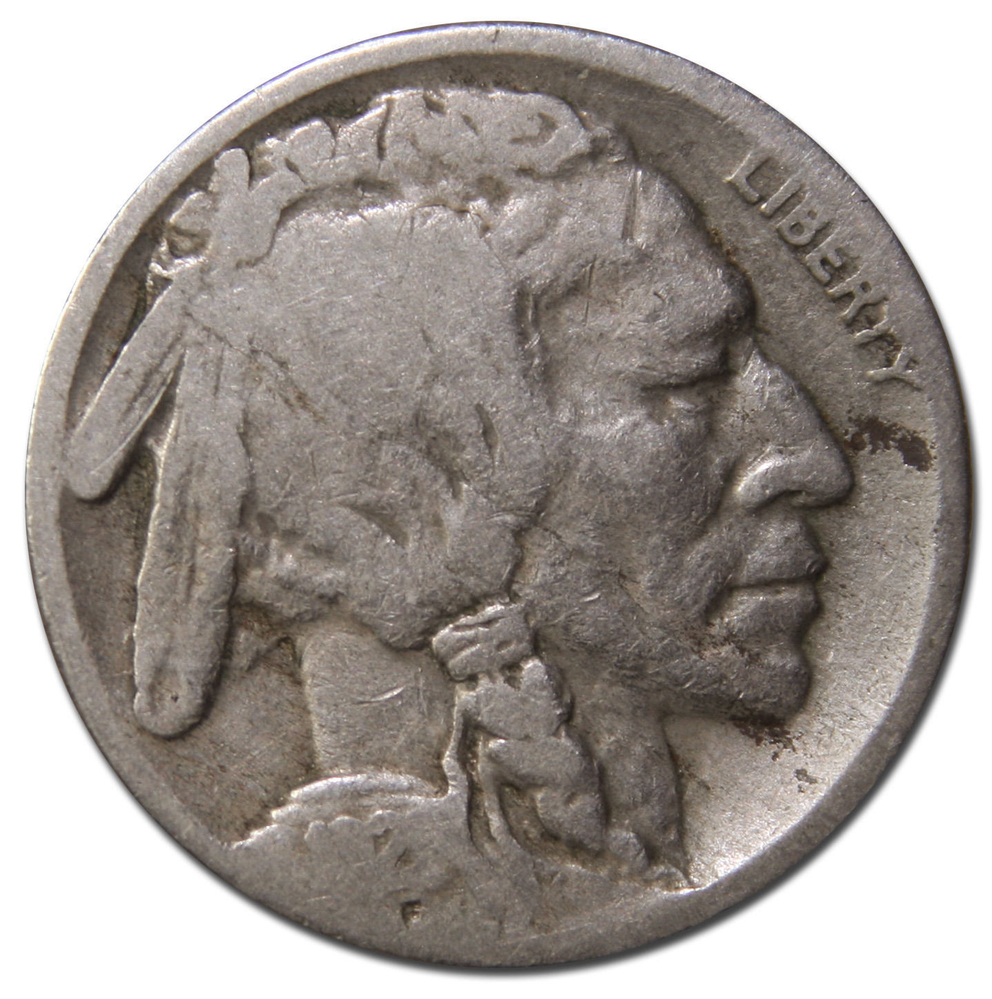 1921S Buffalo Nickel 5¢ Coin Lot # MZ 3708