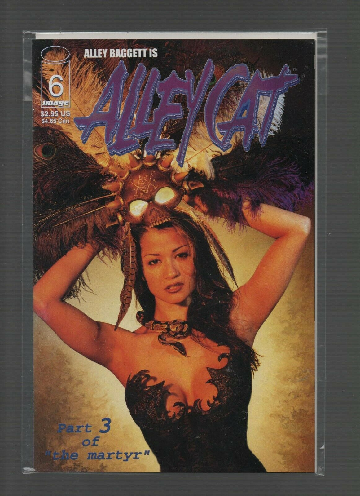 Alley Cat #6 - Image Comics - Alley Baggett - 1999 - Martyr Part 3 - Photo Cover