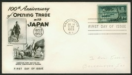 #1021 5c Opening of Japan, Fleetwood-Addressed FDC **ANY 4=FREE SHIPPING** - $1.00