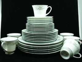 40 Pieces Noritake Melissa 3080 Incl. Coffee Pot & Oval Vegetable - $593.75