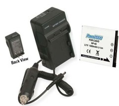 Battery + Charger For Casio EX-Z21 EXZ21 EX-S10A EXS10A - $21.52