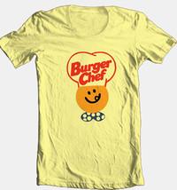 Burger Chef T-shirt retro 70s 80s fast food restaurant 100% cotton graphic tee image 1