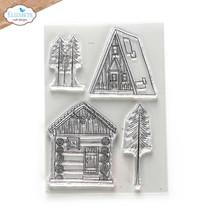 Cabin Love Stamp Set. Elizabeth Craft Designs #CS248
