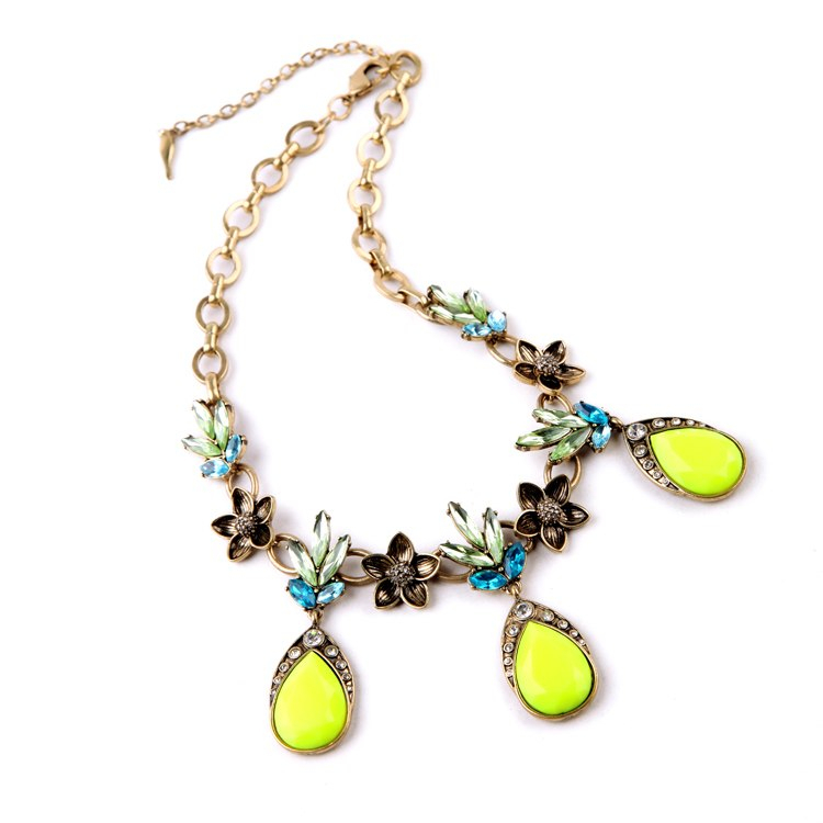 Best Friend Necklace Pendant Summer Jewelry Shining Collier Femme