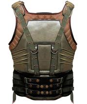 Bane Vest Dark Knight Rises Military Tactical Tom Hardy Costume Leather Jacket image 2