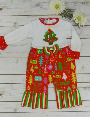 Christmas Tree Applique Outfit