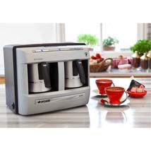 ARCELIK BEKO FULL AUTOMATIC TURKISH GREEK COFFEE MAKER MACHINE GARNET GR... - $266.13