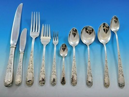 Old Maryland Engraved by Kirk Sterling Silver Flatware Set Service 108 pc Dinner - $9,750.00