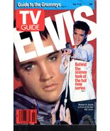 "TV Guide -  Febriary 17 - 23, 1990 - ""ELVIS""  - $14.95"