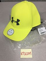 NWT Under Armour Women's Renegade Hat Cap Adjustable OSFA yellow /gray - $19.99
