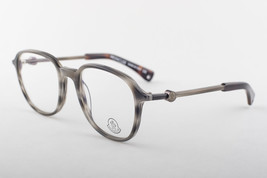 MONCLER MC018-V03 Striped Gray Beige Eyeglasses MC 018-V03 - $146.51