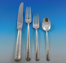 Rambler Rose by Towle Sterling Silver Flatware Set for 12 Service 59 Pcs... - $2,795.00