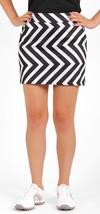 Nwt Ladies Loudmouth Dakari Black & White Golf Skort - Sizes 12 & 14 - $47.99