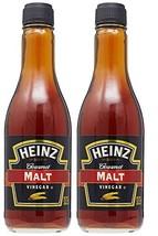 Heinz Gourmet Malt Vinegar, 12 Fl Oz Bottle Pack of 2