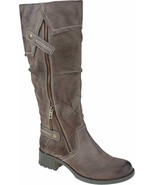 Womens Earth Sycamore Tall Boot - Dust Scout Vintage Size 5 [600262WVLE] - $114.99