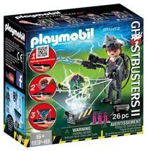 PLAYMOBIL Ghostbuster Raymond Stantz Building Set #9348 NEW - $9.99