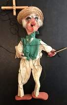 VINTAGE MEXICAN FOLK ART HOMBRES MARIONETTE STRING PUPPETS INCREDIBLE AN... - $24.75