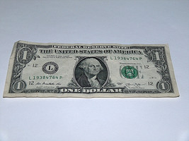 2013 $1 Dollar Bill US Bank Note Date Year Birthday 1938 4764 Fancy Mone... - $13.78