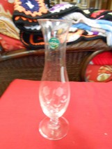 "Beautiful Etched Floral Design LENOX ""Bud Vase""...9.5"" height ..FREE POS... - €19,79 EUR"
