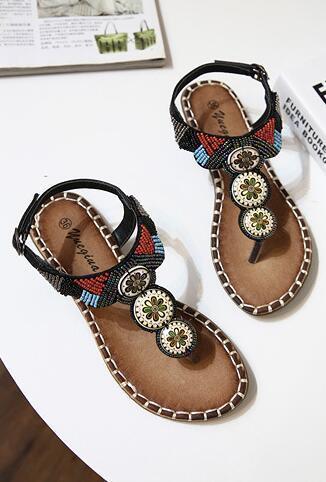 Brown Women Crystals Summer Sandals,Beach sandals,Gladiator & Strappy Sandals image 4