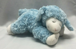 "Baby Gund Winky Stuffed Plush Blue Lamb Sheep Rattle Toy Boy 8"" - $59.39"